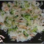 Riz au poulet et aux brocolis