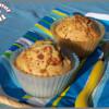Muffins au praliné et coeur de chocolat