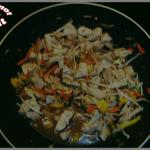 chop suey au porc à ma façon