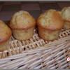 muffins pommes, noix et cannelle