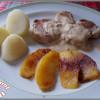 Mignon de porc aux 2 pommes