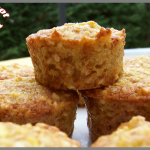 Muffins pommes et flocons d'avoine