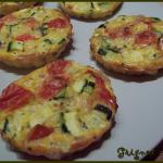 Fondants de légumes (courgette/tomate)