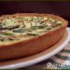 tarte courgettes et chèvre frais (pâte à la ricotta)