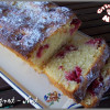 cake aux framboises, citron vert et mascarpone