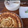 Gâteau pommes et ricotta