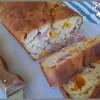 Cake au bacon et à la mimolette