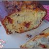 cake au chorizo et cœurs d'artichaut