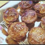 Mini tourtes foie gras - champignons pour l'apéritif