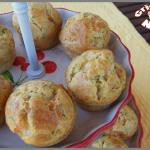 Mini muffins au saumon fumé et à l'aneth