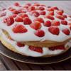 Victoria sponge cake aux fruits rouges