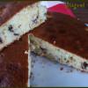 Gâteau coco, banane et pépites de chocolat