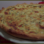 Quiche au thon et légumes méditerranéens