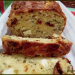 Cake tomates séchées, feta et basilic