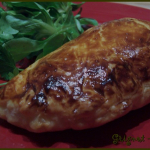 Chaussons feuilletés aux lardons et au fromage