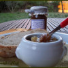 Confiture de poires, noix et vanille