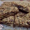 Cookie bars chocolat - noisette