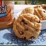cookies au beurre de cacahuète et pépites de chocolat