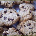 Cookies à la purée de noisettes et pépites de chocolat