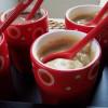 Crème dessert au café, chicorée