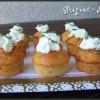 Cupcakes tomates séchées, parmesan et basilic