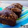 mini cakes au chocolat, noisettes et cacahuètes.