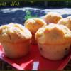 Muffins au beurre de cacahuètes crunchy et chocolat