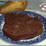 Cake au chocolat et aux poires