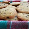 cookies au chocolat noir et pralin