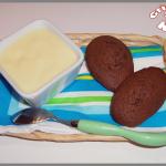 Madeleines au chocolat et pépites de chocolat