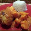 Mafé de poulet aux patates douces