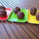 Muffins au chocolat et ses variantes