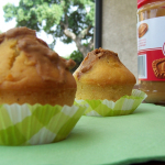 Muffins aux pommes, coeur de speculoos