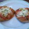 Petits pains de campagne façon pizza