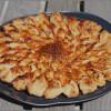 Tarte soleil au pesto rosso, jambon et mozzarella