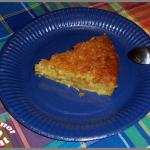 Gâteau noix de coco et ananas