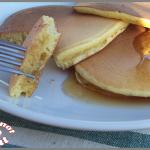 Pancakes au buttermilk (lait fermenté)