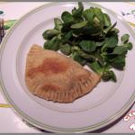 Chaussons aux légumes, bacon et chèvre