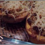 Courge butternut farcie (au bœuf et au riz)