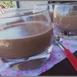 Crème dessert chocolat au mascarpone