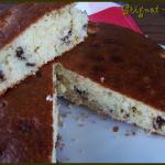 Gâteau coco banane et pépites de chocolat