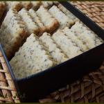Biscuits au citron et pavot (sans beurre, ni œuf)