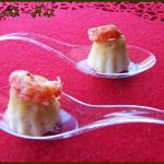 Bouchées aux écrevisses (cuisson au micro ondes)