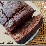 cake chocolat  banane et noix de coco