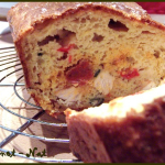 Cake poulet poivrons et chorizo