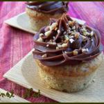 cupcakes à la noisette et au Philadelphia milka