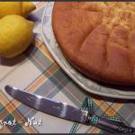 Gâteau au citron (sans beurre)