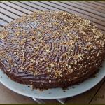 Gâteau chocolat et noisettes