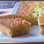 Gâteau à l'orange et graines de pavot