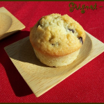 Muffins au lait de coco et pépites de chocolat